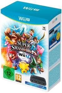 Super Smash Bro Wii U + Adaptateur Gamecube