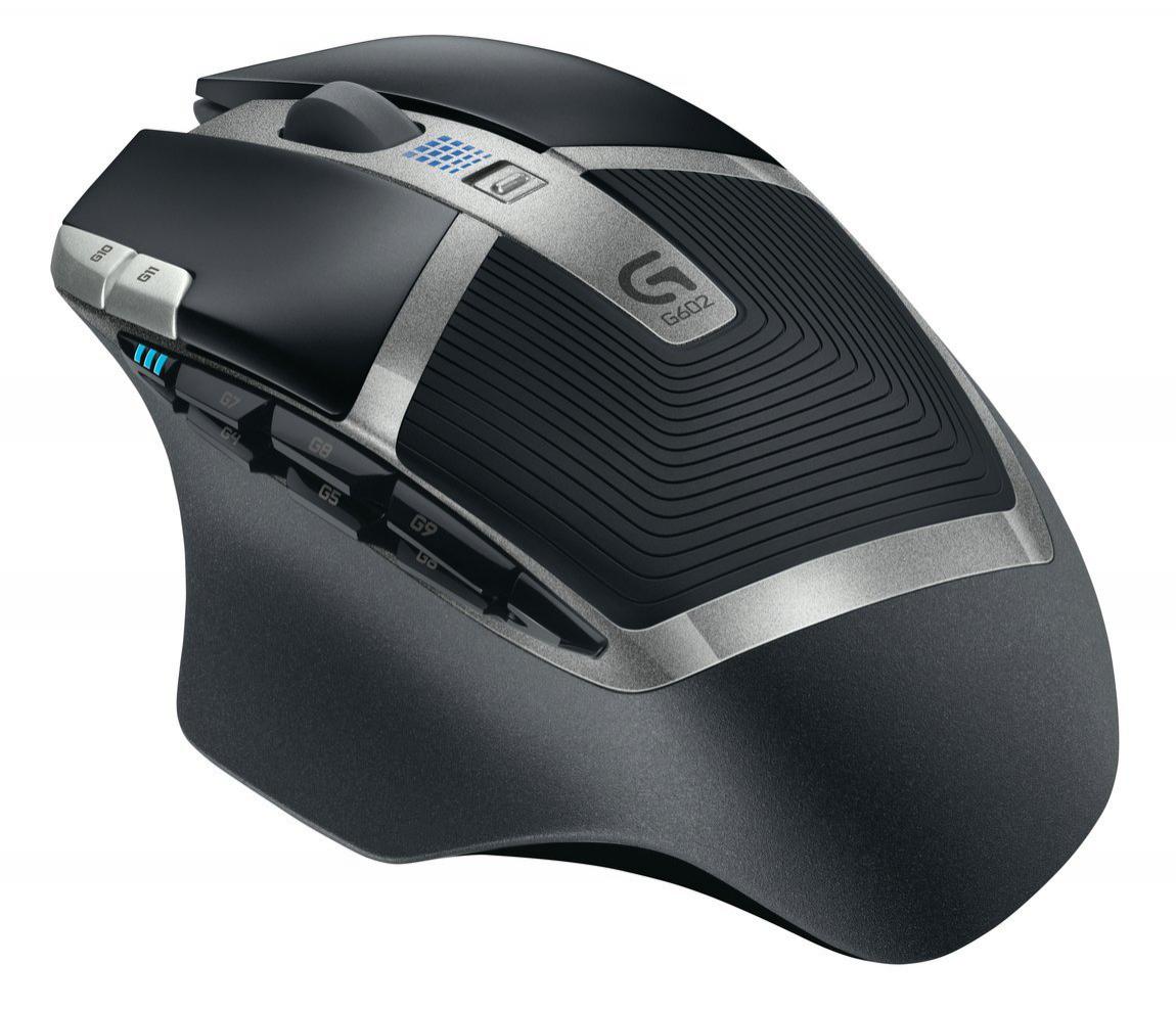 Souris sans fil gamer Logitech G602 Noir
