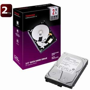 "Disque dur 3.5"" Toshiba DT Series 2 To 32Mo"