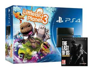 Console Sony PS4 pack Little Big Planet 3 + The Last Of Us
