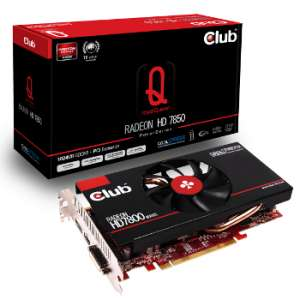 Carte graphique Club 3D Radeon HD7850 RoyalQueen + Sleeping Dogs offert (FDP Gratuit en relais colis)