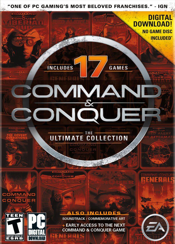 Jeux PC dématérialisés en promotion - Ex: Command and Conquer The Ultimate Collection