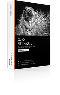 Logiciel DxO FilmPack 3 Essential gratuit sur PC/Mac