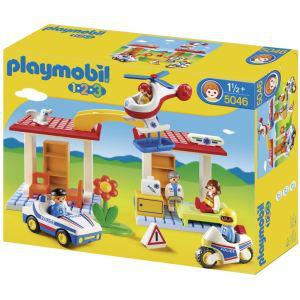 Coffret Hôpital avec Secouristes Playmobil 5046