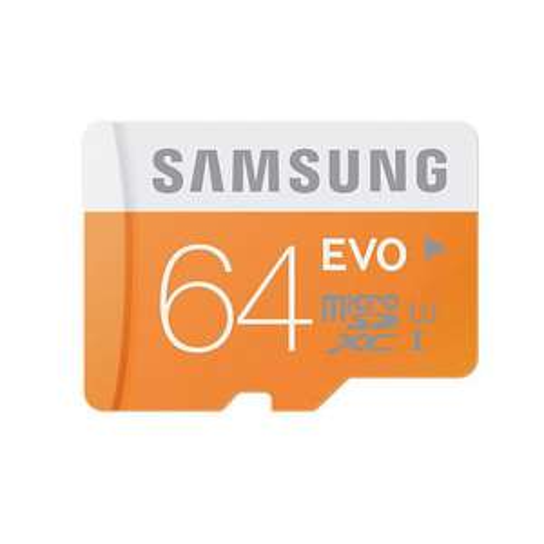 Carte mémoire Micro SDXC Samsung EVO 64 Go
