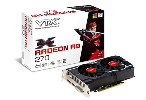 Carte graphique VTX3D R9 270 - 2 Go