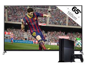 "TV 65"" Sony KDL65W955 Full HD + Console Sony PS4"
