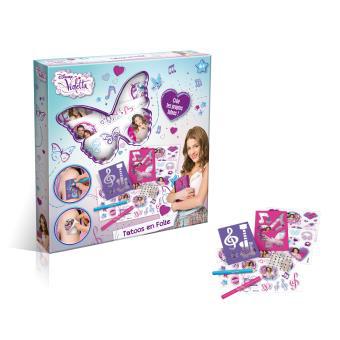 Lot de 2 boites Tatoos en folie Violetta - création tatouages (50 % sur la deuxième)