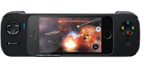 Controleur Logitech PowerShell + Batterie pour iPhone 5/5S offert pour tout achat d'un périphérique Logitech Gaming