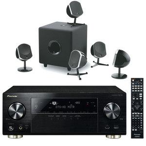 Ampli-tuner Home Cinéma 7.2 Pioneer VSX-924-K - Noir + Pack d'enceintes 5.1 Focal Little Bird