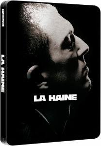 Blu Ray La Haine Edition Limitée Steelbook