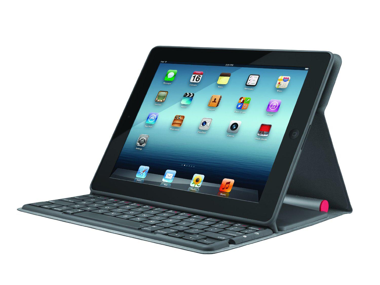 Cover Clavier sans fil Solaire Logitech Solar pour iPad