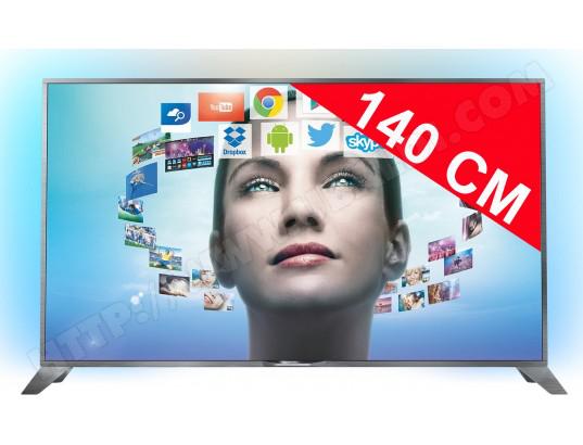"""TV 55"""" Philips 55PUS8809 4K Ambilight 3 côtés - Android (Avec ODR 200€)"""