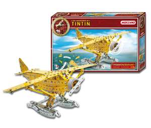 Jeu de Construction Meccano 830552 Hydravion - Collection Tintin