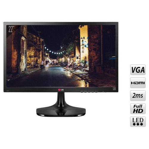 """Ecran PC 22"""" LG 22M45HQ-B - Full HD - 2 ms"""