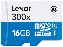 Carte Micro SDHC Lexar UHS-I 16 Go Classe 10