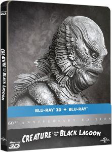 Blu-ray 3D L'Etrange créature du lac noir - Édition 60ème anniversaire Steelbook