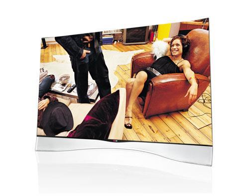 """Téléviseur incurvé OLED 55"""" LG 55EA970V - 3D, Smart TV"""