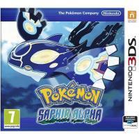 Pokémon Saphir Alpha ou Rubis Oméga sur Nintendo 3DS + Porte clef + Boitier de Rangement Noir 28 Emplacements 2DS-3DS offert