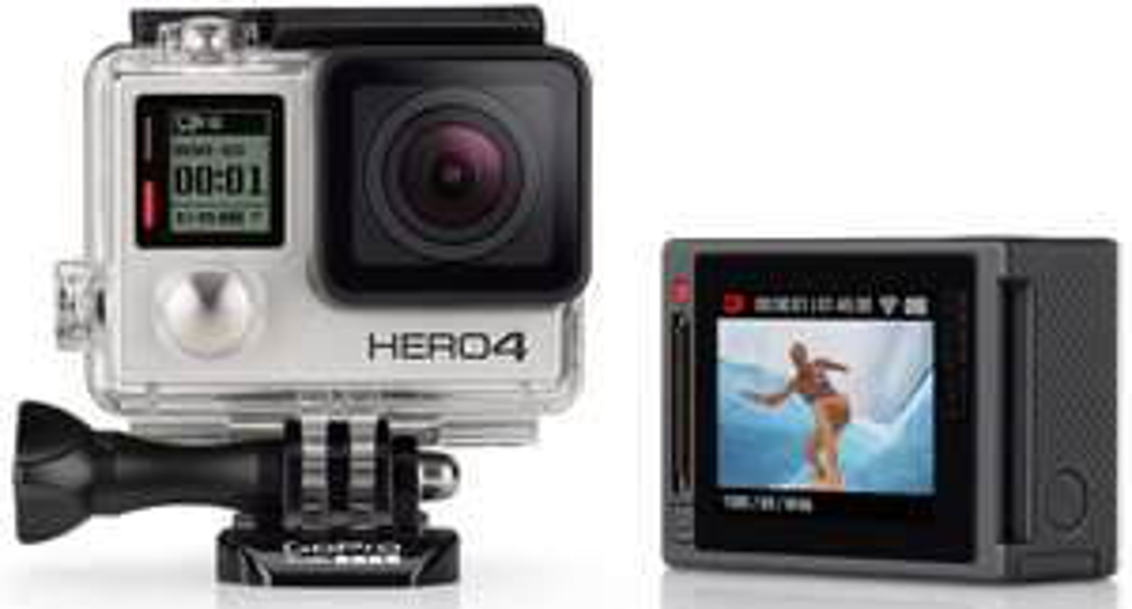 Caméra embarquée GoPro HERO4 Silver