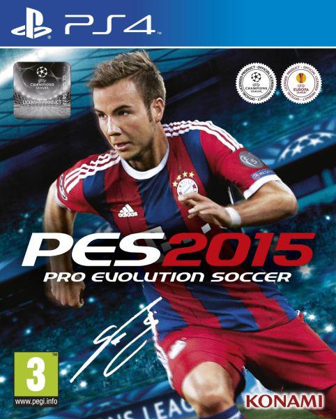 Jeu PES 2015 sur PS4 et Xbox one