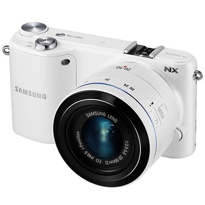 Appareil photo Hybride Samsung NX300 Blanc + Objectif 20-50 mm