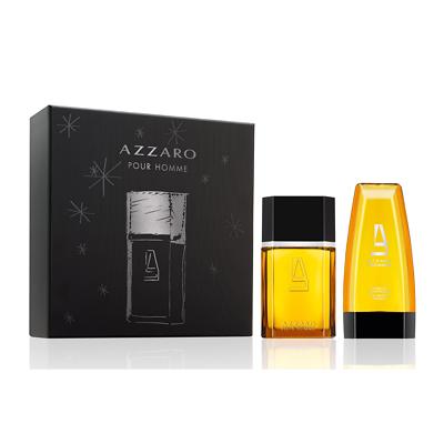 Coffret parfum Azzaro pour homme + Gel Douche et Shampooing