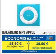 Baladeur MP3 Apple iPod Shuffle 2 Go