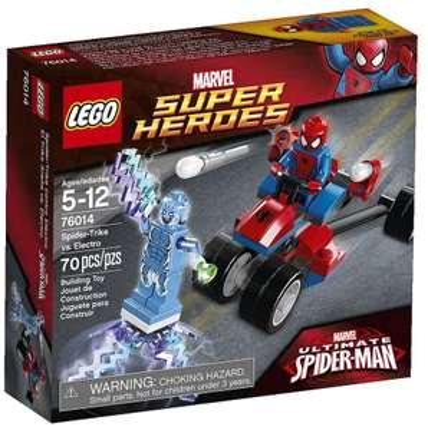 Lego Super-Heroes 76014 - Marvel - Spider-Trike contre Electro