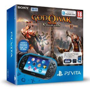 Pack Console Playstation Vita + God Of War Collection ou The Ratchet & Clank Trilogy + Carte Mémoire 8 Go pour PS Vita