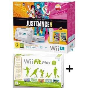 Pack Console Nintendo Wii U + Wii Fit Plus + Just Dance + Nintendo Land + WiiMote Supplémentaire