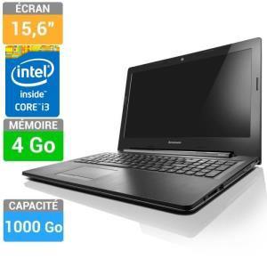 """PC portable 15,6"""" Lenovo i3 4005U - 4Go - 1To - Windows 8.1"""
