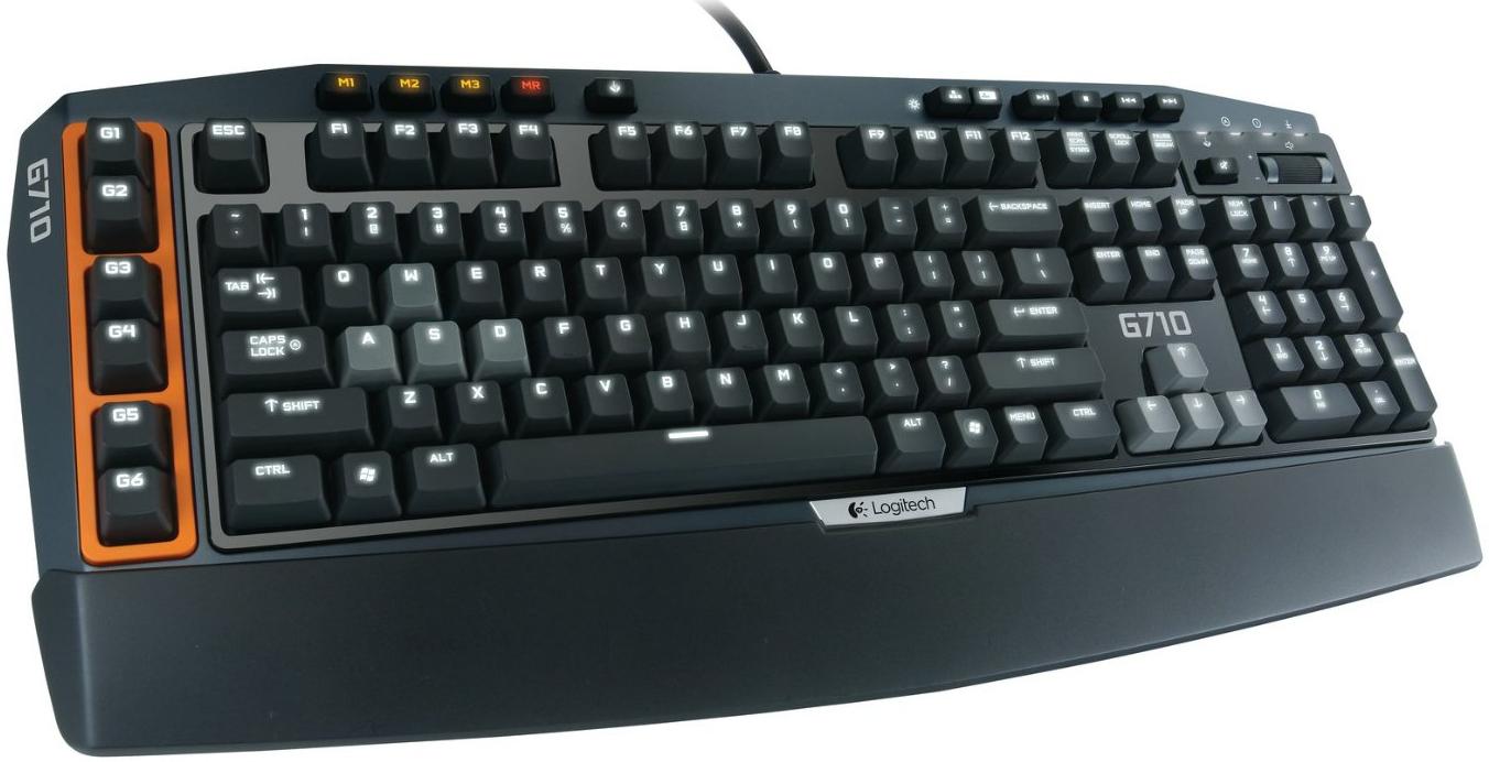 Clavier Gaming Mécanique Logitech G710+ AZERTY Noir