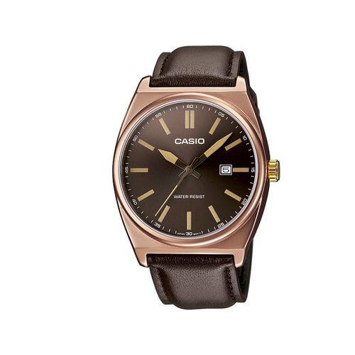 Montre Casio Collection MTP-1343L-5BEF cuir marron (et autres modèles)
