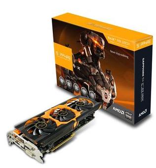 Carte graphique Sapphire Radeon R9 280X TRI-X OC 3 Go + 3 jeux (Reconditionné à neuf)