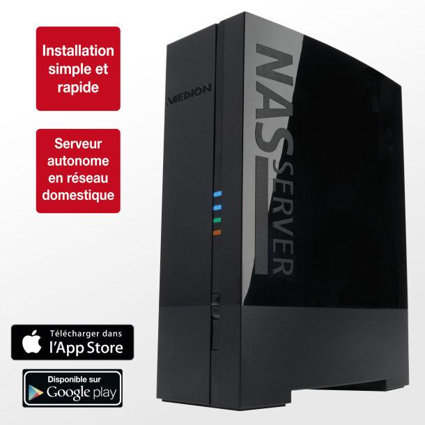 Serveur de stockage en réseau NAS 1To