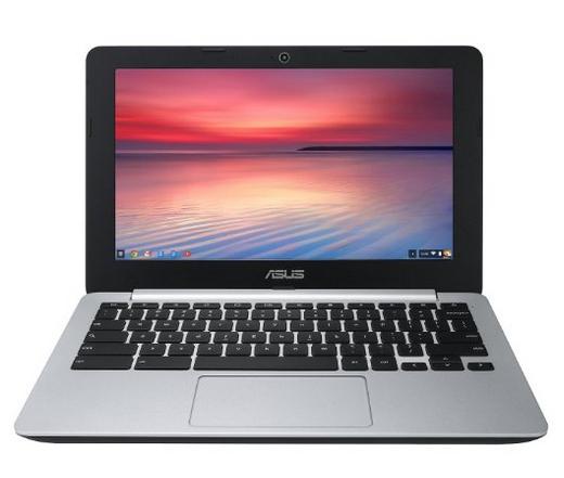 """Chromebook 11"""" Asus C200MA-KX002 (16Go SSD, 2 Go RAM) Noir et Argent"""