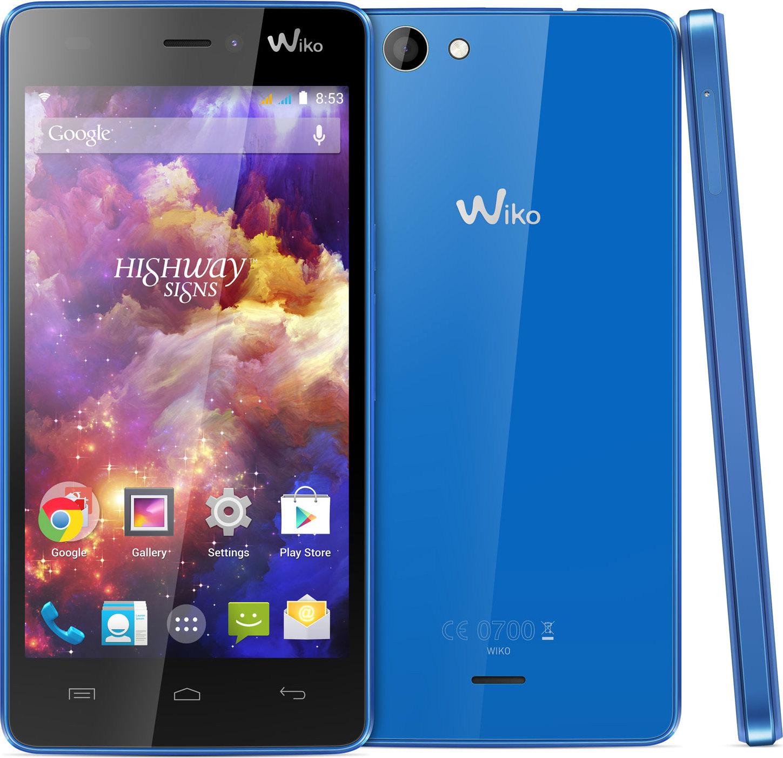 Smartphone Wiko Highway Signs 8Go Dual Sim Bleu