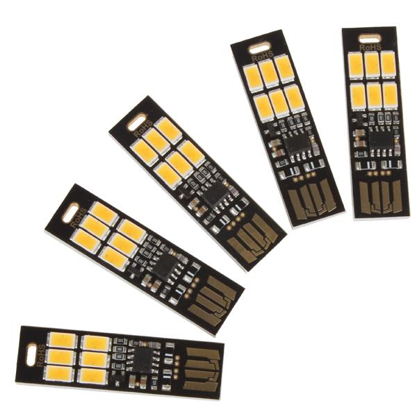 Lampe SoShine LED 5630 (Blanc Froid ou Chaud) - Format USB - Tactile avec variateur intégré (Dimmer)