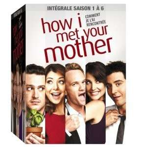 Coffret DVD How I Met Your mother - Intégrale Saisons 1 à 6