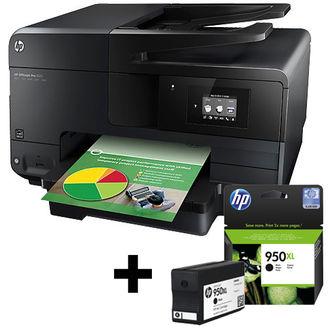 Imprimante Jet Encre HP Officejet Pro 8615 + Cartouche 950XL Noir