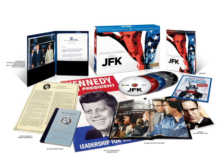 Coffret Collector numéroté Bluray JFK VO/VF