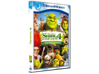 Sélection de DVD DreamWorks en promo - Au choix : Monstres contre aliens, Madagascar 3, Shrek 4, Kung fu panda 2, La route d'Eldorado ou Dragons