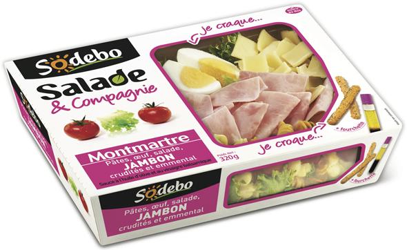 Salade Sodebo au choix (40% sur la carte)