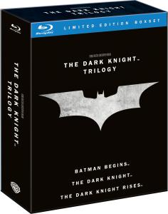 Coffret Blu-Ray Trilogie The Dark Knight