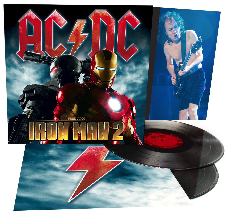Double Vinyle AC/DC B.O. de Iron Man