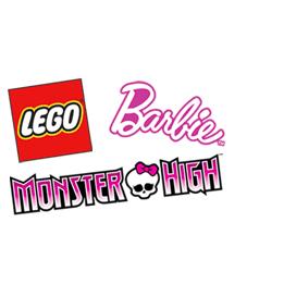 20% remise fidélité sur les jouets Lego, Barbie et Monster High (20 % sur la carte) Ex : Le train de passager à grande vitesse Lego