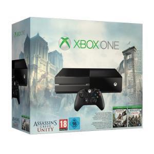 Console XBOX One + Jeu Assassin's Creed Unity + Jeu Assassin's Creed Black Flag.