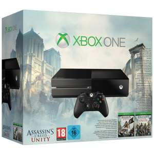 Pack console Xbox One + Assassin's Creed: Unity + Assassin's Creed: Black Flag + GRAND THEFT AUTO V