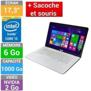 "PC Portable Asus 17.3"" X751LDV-TY295H + Sacoche"